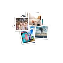 Photo Prints Mini Square 60 x 60mm 36pk incl Delivery