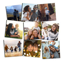 9 x Photo Tiles 20 x 20cm (8 x 8in) incl Delivery