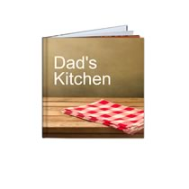 40 Page Hardcover 20cm x 20cm Recipe Book incl Delivery
